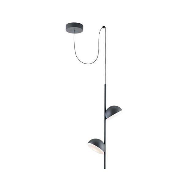 Luminaires chambre design TALK Noir, H61.9cm LEDS-C4