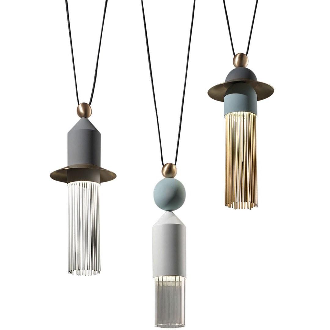 Luminaires salon design NAPPE C3 MASIERO