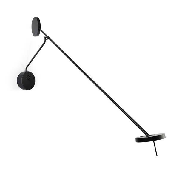 Luminaires chambre design INVISIBLE Noir, H100cm LEDS-C4