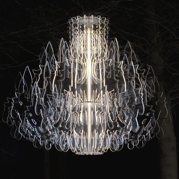 Luminaires chambre design THERESE, Transparent SANDER MULDER