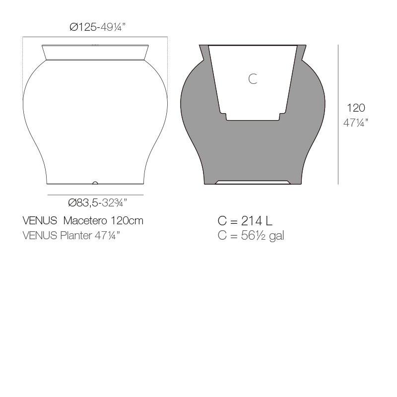 Luminaires salon design SIAM 150 BOVER