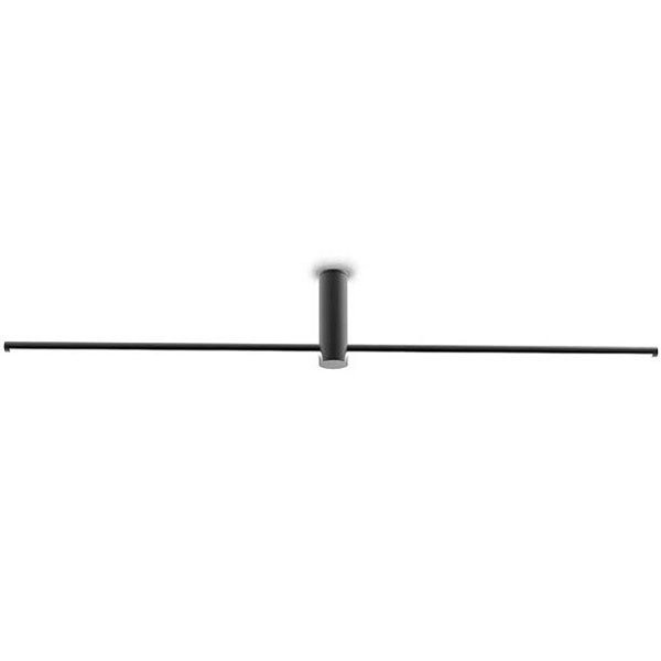 Luminaires salon design CROSS Noir, H20.5cm INVENTIVE