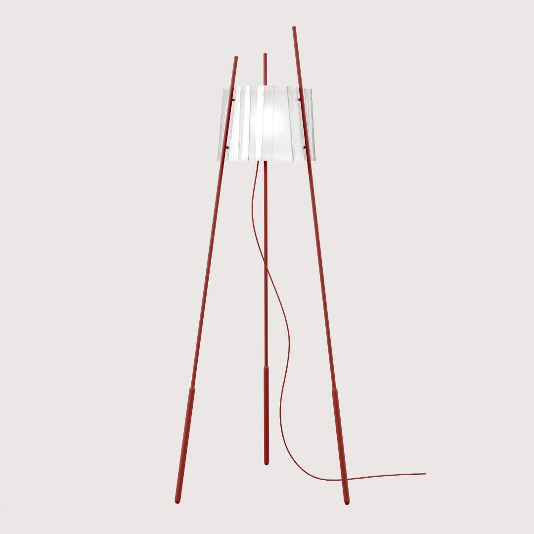 Lampadaires pour chambre TYLA, H165cm KUNDALINI