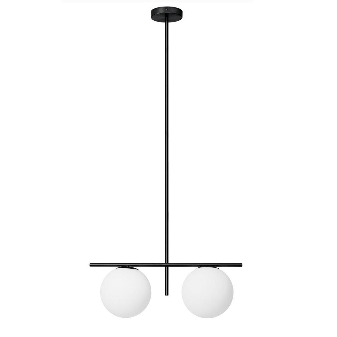 Luminaires salon design JUGEN BLACK EDITION MILOOX