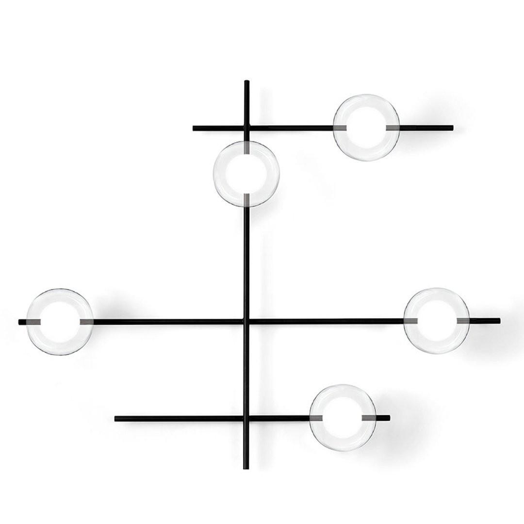 Luminaires chambre design MIKADO TRANSPARENT, H78cm MILOOX