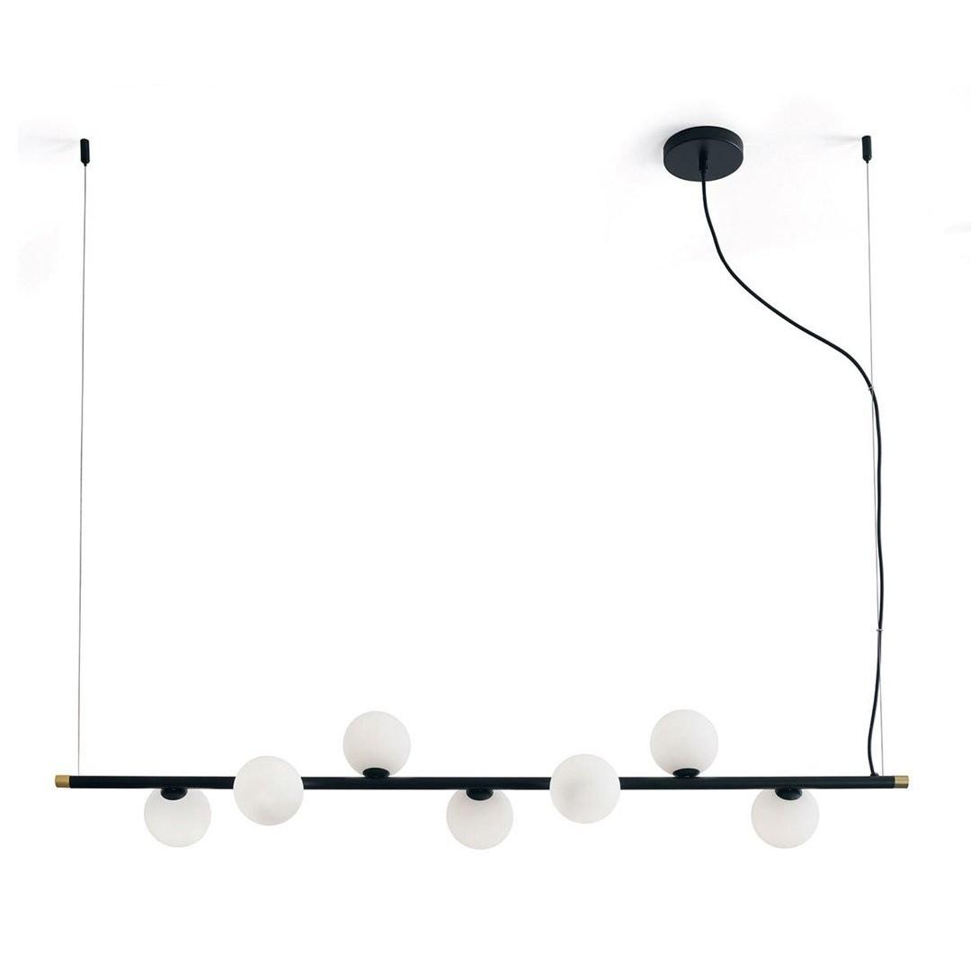 Luminaires cuisine design POMI, L124cm MILOOX