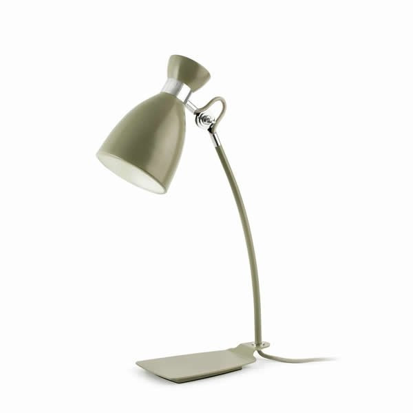 Luminaires chambre design RETRO, H49cm FARO