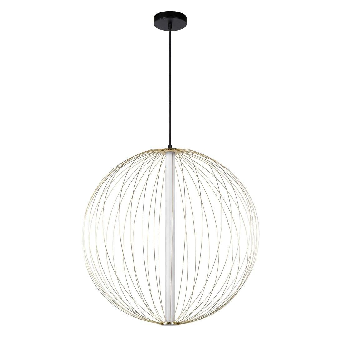 Luminaires chambre design CARBONY, Ø60cm LUCIDE
