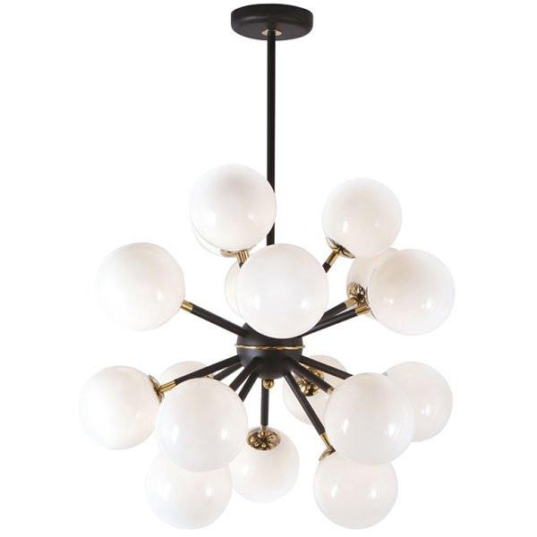 Luminaires chambre design ATOME, H80cm CONCEPT VERRE