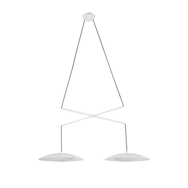 Luminaires salon design SLIM DOUBLE, H6cm  FARO