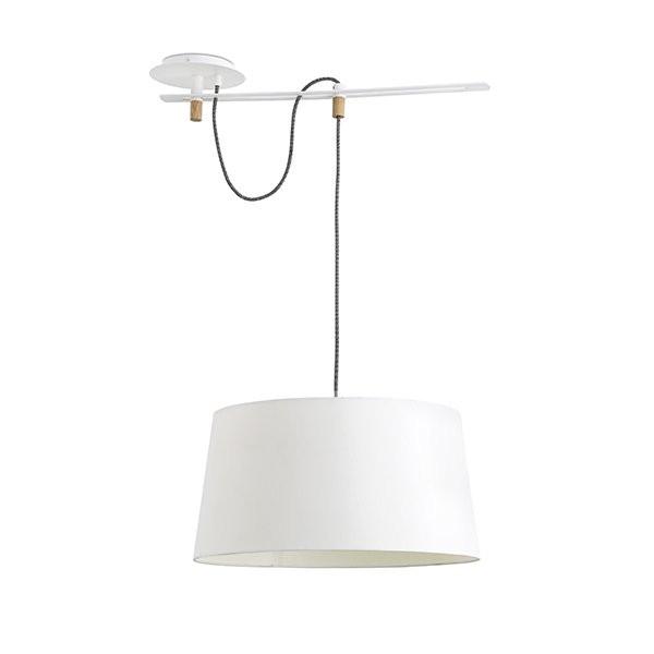 Luminaires entrée FUSTA Blanc, H130cm FARO