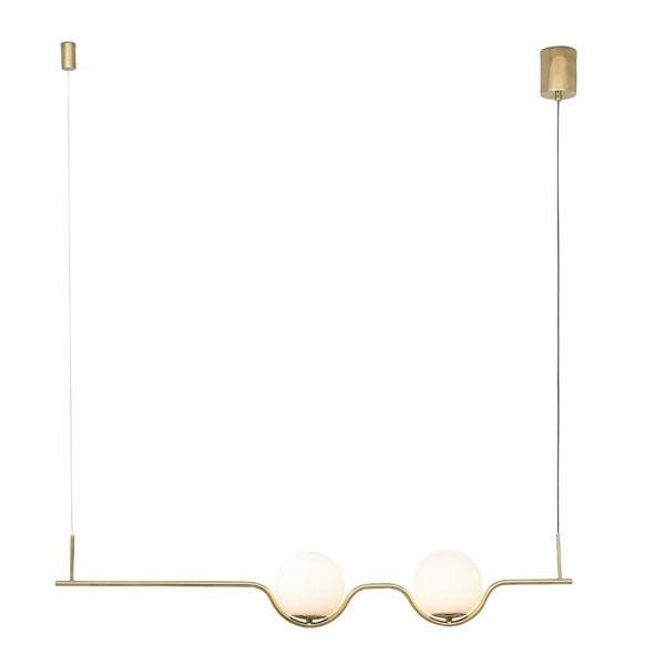 Luminaires salon design LE VITA Or, H18cm FARO