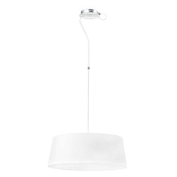 Luminaires entrée HOTEL Blanc, H18.5cm FARO
