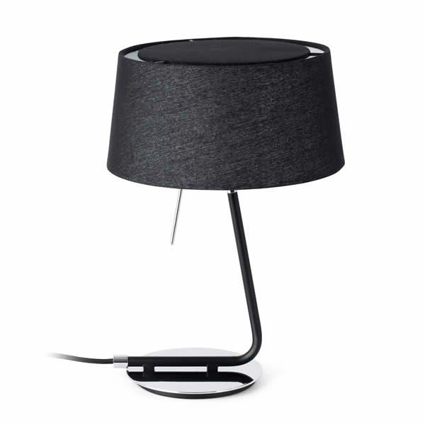 Lampes à poser noires HOTEL, H37cm FARO