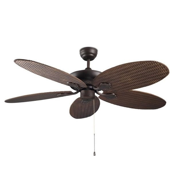 Ventilateurs plafond design PHUKET, H33cm LEDS-C4