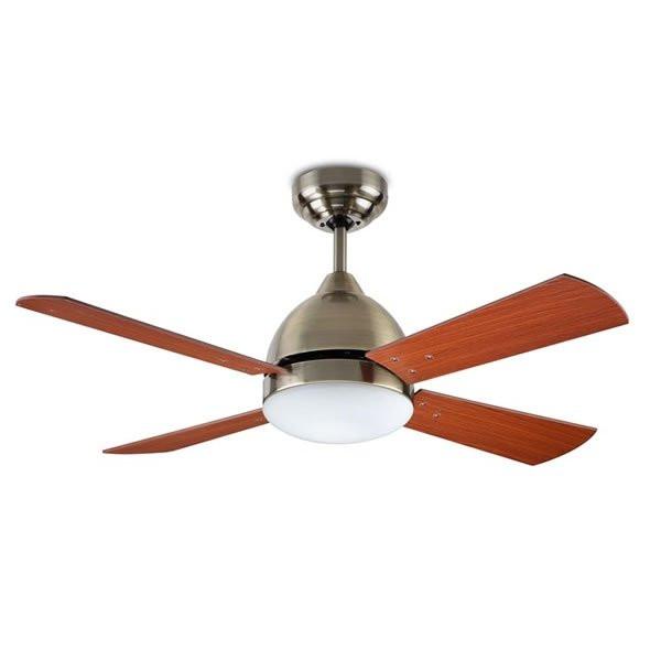 Ventilateurs plafond design BORNEO, H39,2cm LEDS-C4