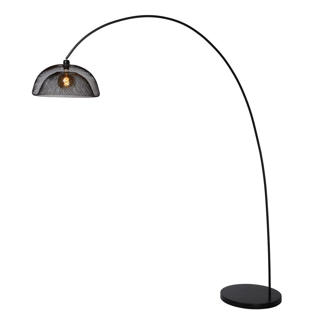 Lampadaires noirs MESH, Ø46cm LUCIDE