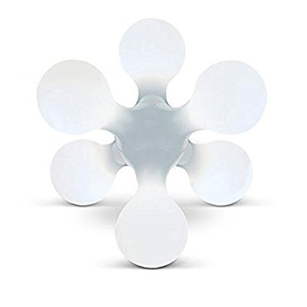 Luminaires entrée ATOMIUM Blanc, H52cm KUNDALINI