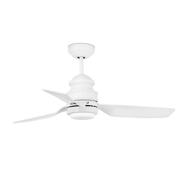 Ventilateurs plafond design PHUKET Blanc, H41cm FARO