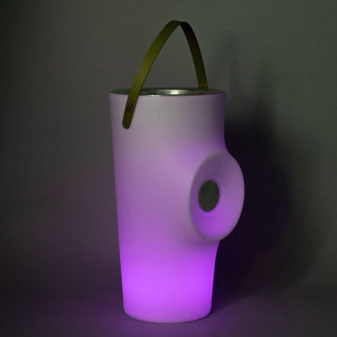 Luminaires de piscine design WOODY, H70cm NEW GARDEN