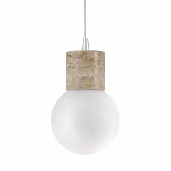 Luminaires salon design EDISSON CONCEPT VERRE