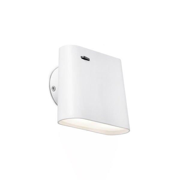 Luminaires chambre design AUREA Blanc, H9,5cm FARO