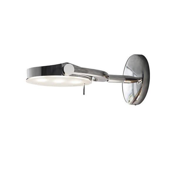 Luminaires entrée PERCEVAL LED Chromé, H9.5cm MILAN ILUMINACION