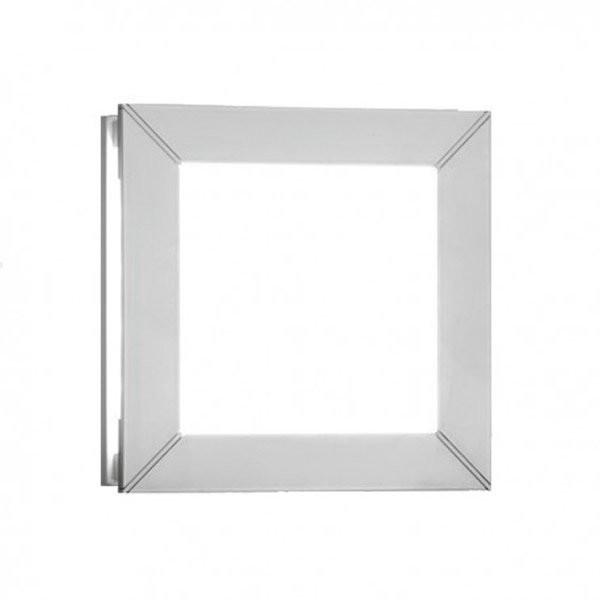 Luminaires entrée GIL Blanc, H19.7cm MILAN ILUMINACION