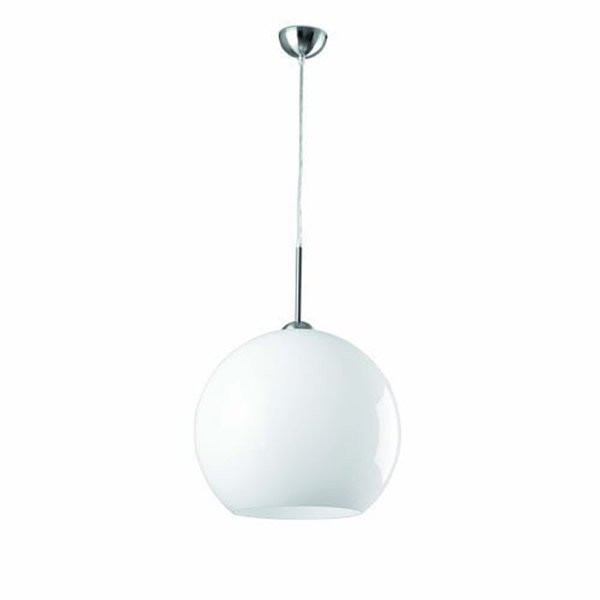Luminaires salon design MALI Blanc, H36cm FARO