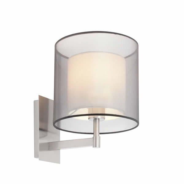 Luminaires chambre design SABA crème, H31cm FARO