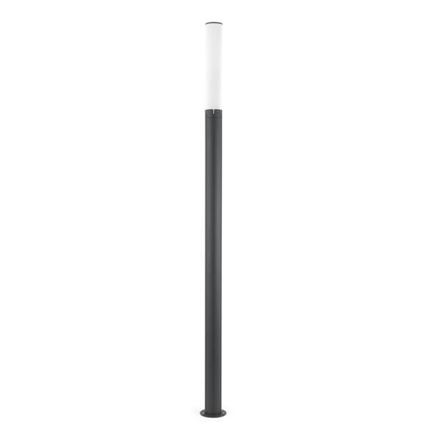 Eclairage exterieur piscine TRAM Anthracite, H250cm FARO