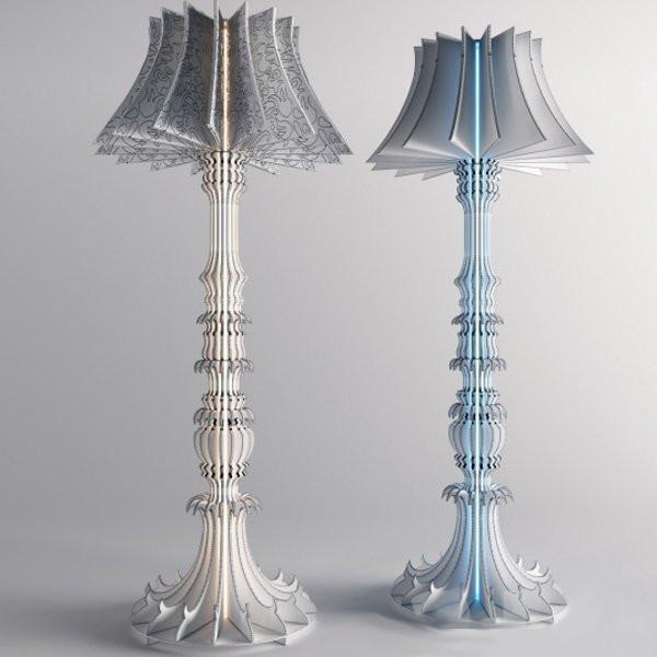 Luminaires chambre design JOSEPHINE Transparent, H149cm SANDER MULDER