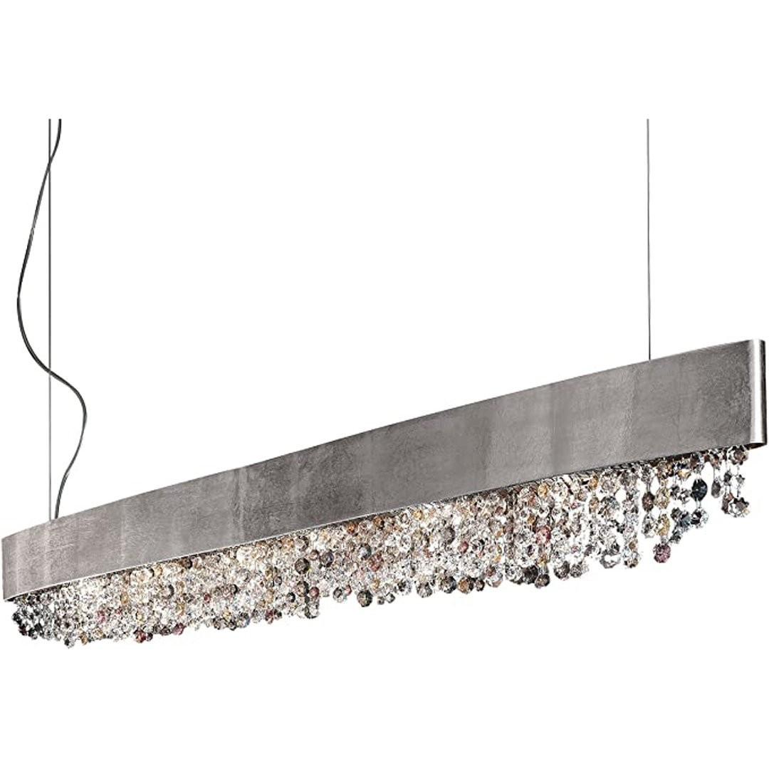 Luminaires chambre design OLA OVALE, L160cm MASIERO