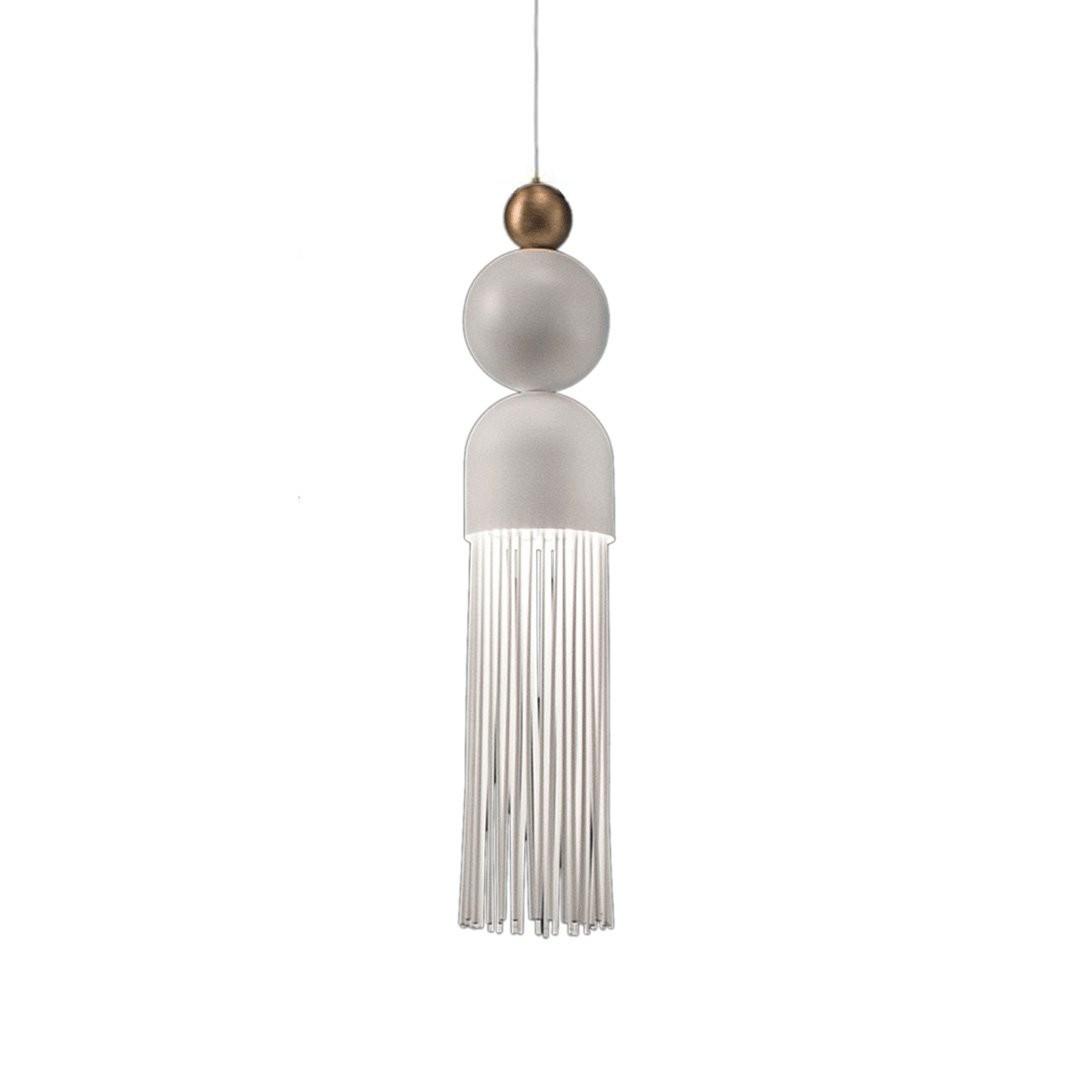 Luminaires salon design NAPPE N9, H39cm MASIERO