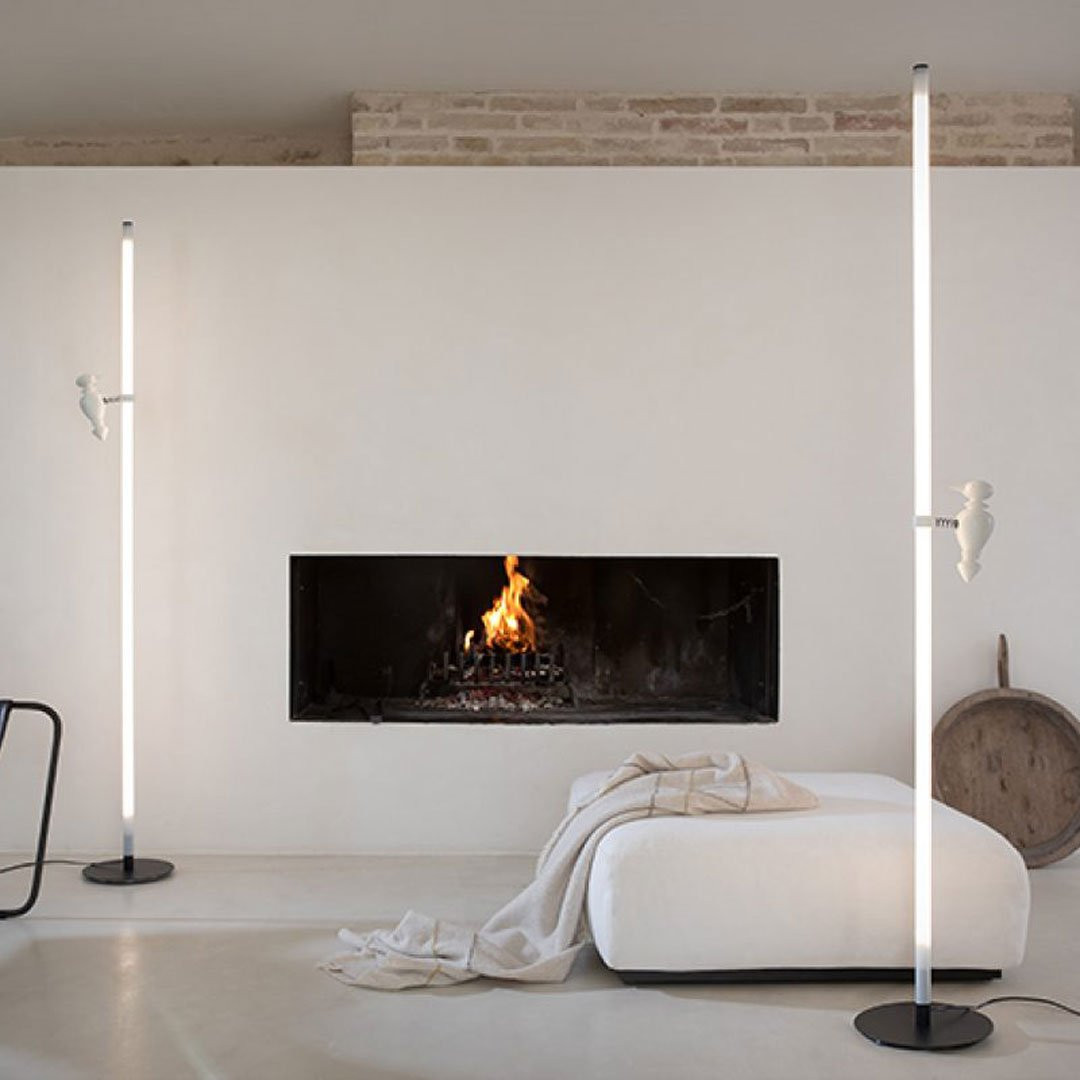 Suspensions plafonniers de luxe ACCIPICCHIO, H185cm KARMAN