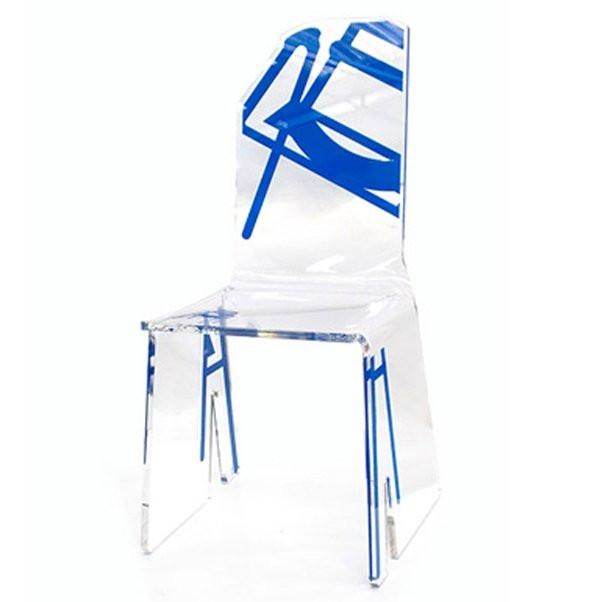 Chaises  SAB, H90cm ACRILA