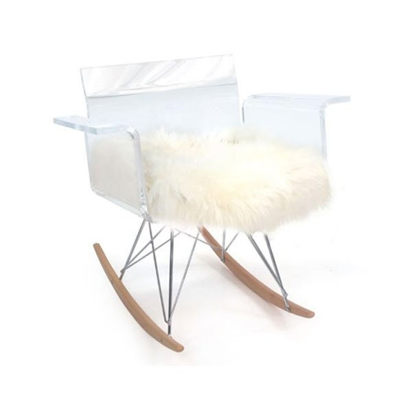 Nos Idées cadeaux CALI Rocking chair, H77.5cm ACRILA