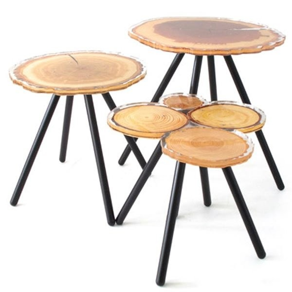 Table basse design & lumineuse QUEBEC  ACRILA