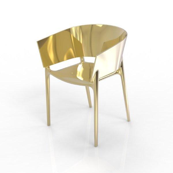 Chaise design & lumineuse AFRICA, H75cm VONDOM