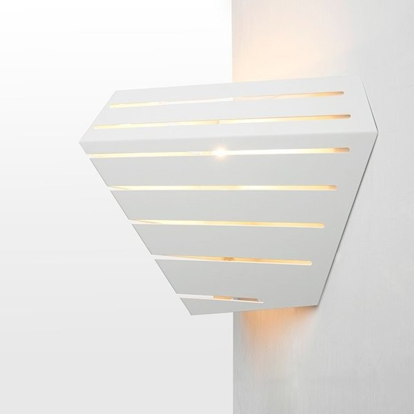 Luminaires entrée DADI Blanc, H24.5cm ZAVA Luce