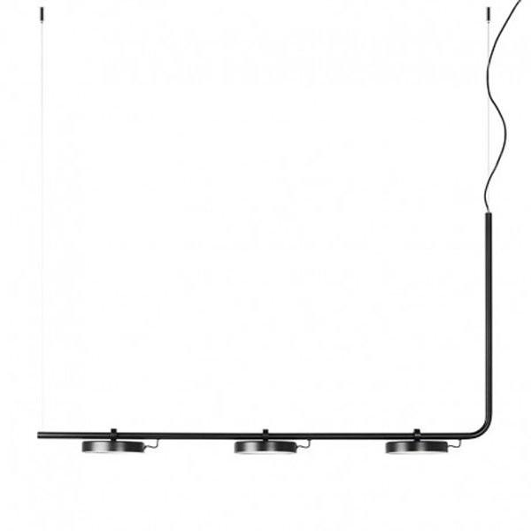 Luminaires salon design ARO Noir, H63.6cm ESTILUZ Design