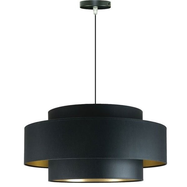 Suspensions métal noir AROUND Noir, H29cm BROSSIER SADERNE
