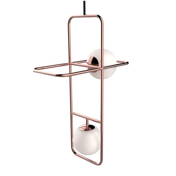 Luminaires salon design LINK II, H100cm UTU SOULFUL LIGHTING