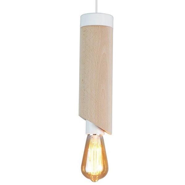 Luminaires entrée PIMS Bois, H28.5 LUZ EVA