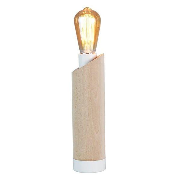 Luminaires entrée PIMS Bois, H28.5cm LUZ EVA