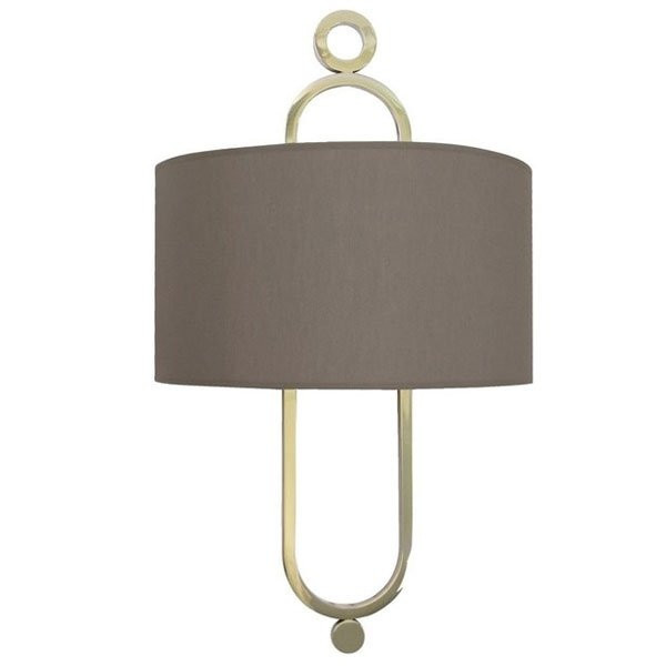 Luminaires entrée TRIANON Taupe, H60cm BROSSIER SADERNE