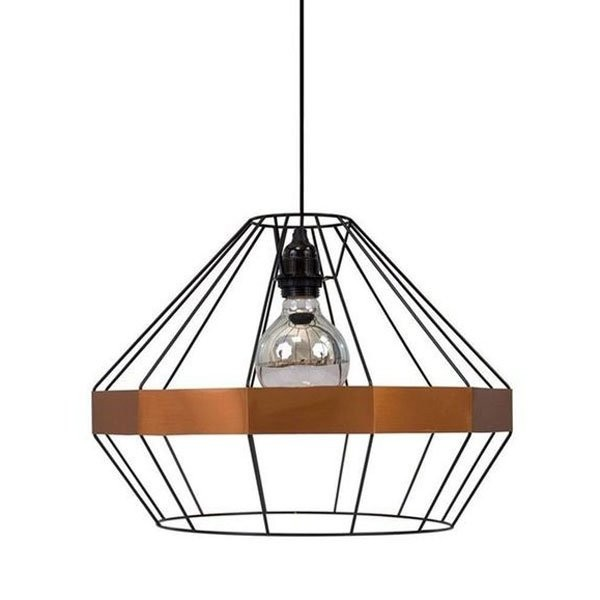 Luminaires salon design EMERAUDE Noir, H30.5cm LUZ EVA