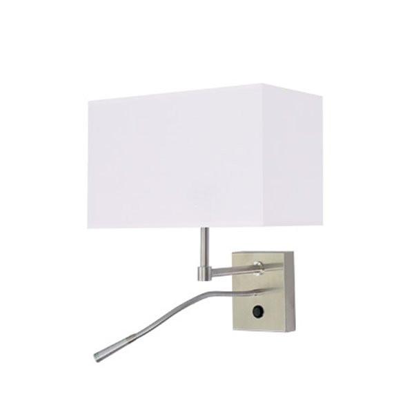 Luminaires chambre design BOLTY Blanc, H34cm BROSSIER SADERNE