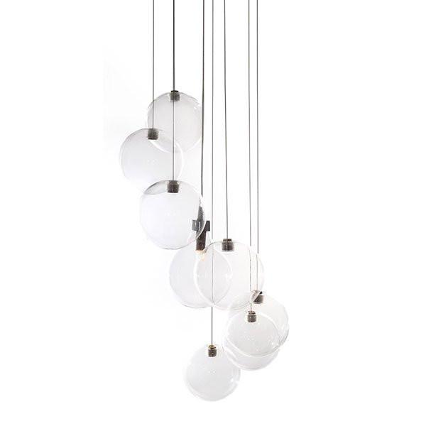 Luminaires salon design SWEETY CONCEPT VERRE