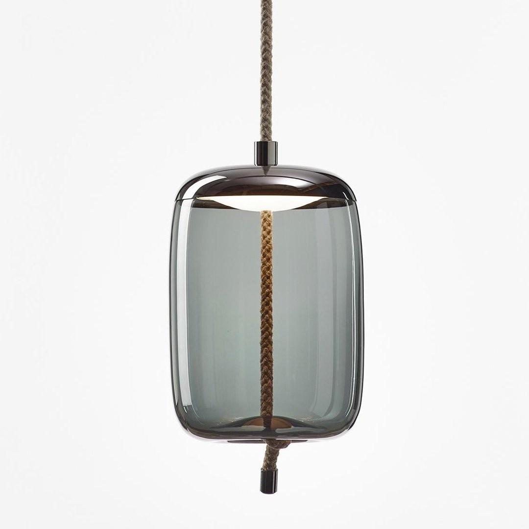 Luminaires chambre design KNOT CILINDRO, H46cm BROKIS